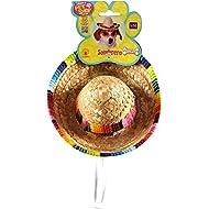 Rubie's Costume Co Pet Sombrero Hat with Multicolor Trim, Small/Medium