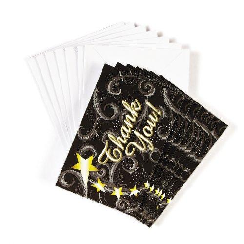 Thank you Dankeskarte 12 Stück Palandi®