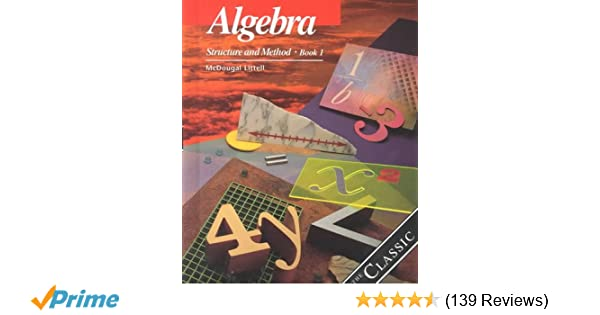 Algebra structure and method book 1 richard g brown mary p algebra structure and method book 1 richard g brown mary p dolciani robert h sorgenfrey william l cole 9780395977224 amazon books fandeluxe Gallery