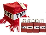 TNT Pinata & 12PK Party Favor Bags Fun Pack