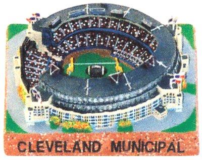 Municipal Stadium Replica (Cleveland Browns) - Silver Series