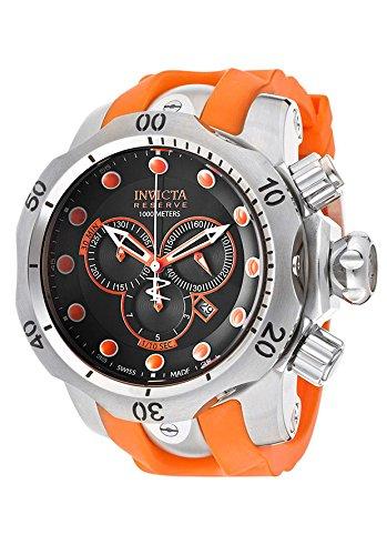 Invicta Men's Reserve Venom Chronograph Black and Orange Dial 14003