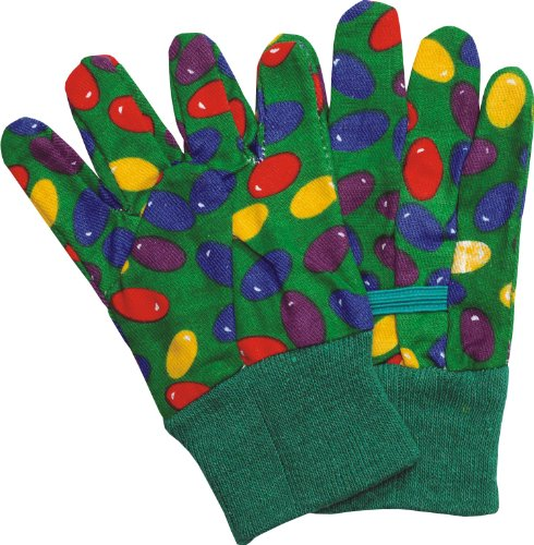 Ladies' Cotton Jelly Bean Print Gloves