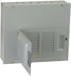 GE TLM612SCUD 1-Phase 3-Wire Convertible Main Lug Load Center 12 Circuits 120/240 Volt AC 125 Amp NEMA 1 PowerMark Gold