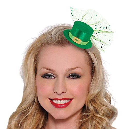 Amscan St. Patrick's Day Mini Leprechaun Hat Clip