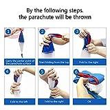 TSLIKANDO 5PCS Parachute Toy Tangle Free Throwing