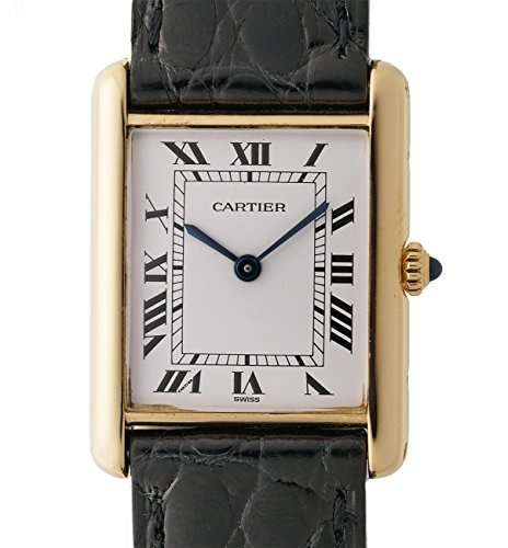 Cartier Tank quartz womens Watch NLA (Certified Pre-owned)
