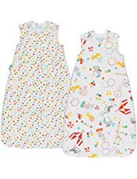 Day & Night Baby Sleeping Bag - Roll Up (18-36 months, 1.0/2.5 tog, Pack of 2)