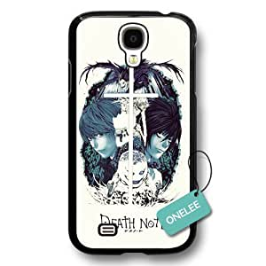 Onelee(TM) Japanese Anime Death Note Samsung Galaxy S4 Case & Cover - Black