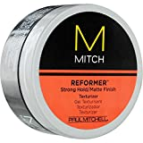 PAUL MITCHELL MEN by Paul Mitchel MITCH REFORMER STRONG HOLD/MATTE FINISH TEX... (Package of 4 )