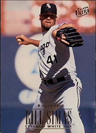 Verzamelkaarten, ruilkaarten Verzamelkaarten: sport 1995 Bowman #197 Bill Simas Chicago White Sox RC Rookie Baseball Card