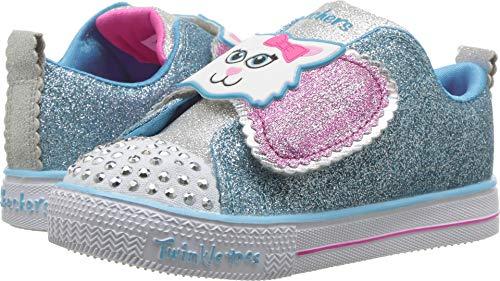 Skechers Toddlers S Lights - Shuffles - Sparkle Pals Light Blue/Multi Casual Shoe 5 Infants US for $<!--$24.54-->