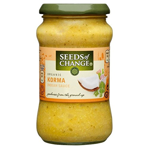 Seeds of Change Organic Korma Sauce (350g) - Pack of 2 (Sauce Organic Chocolate)