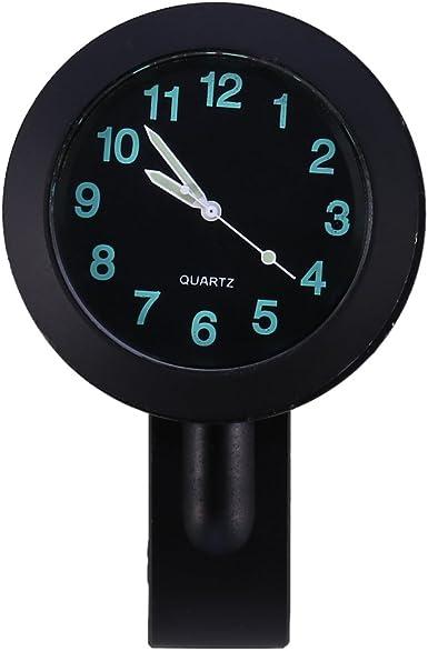 7//8 British Made Freeway Motorcycle Bar Casing with Black Clock