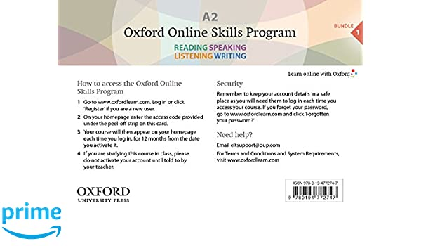Oxford Online Skills Program: A2,: General English Bundle 1 ...