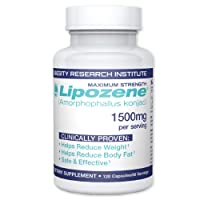 Lipozene MEGA Bottle - 120 Capsules - Largest Size Available - Appetite Suppressant...