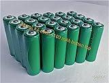 BULK PACK - 24 PCS Button Top AA NiMh 1100 mAh 1.2 V Rechargeable Batteries for Solar, etc