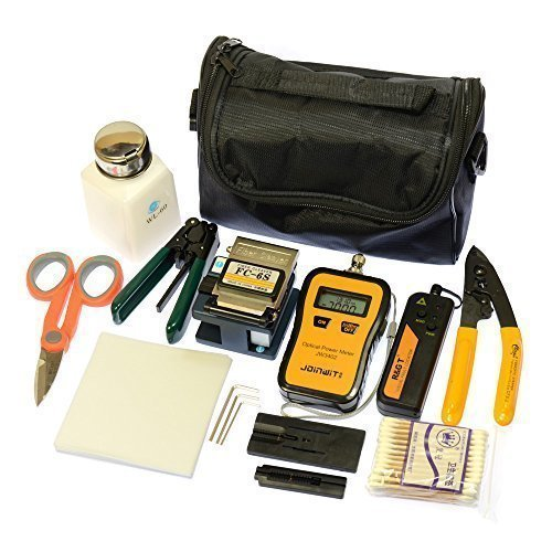 Fiber Optic Ftth Tool Kit Fc-6s Fiber Cleaver Optical Power Meter 10mw Pen-Type Visual Fault Finder