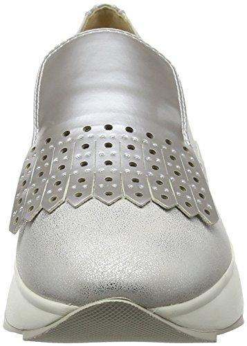 Geox Women's D Gendry B Loafers Silver (Silver C1007) eC3JsgM