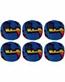 Set of 6 Hacky Sacks - Globe