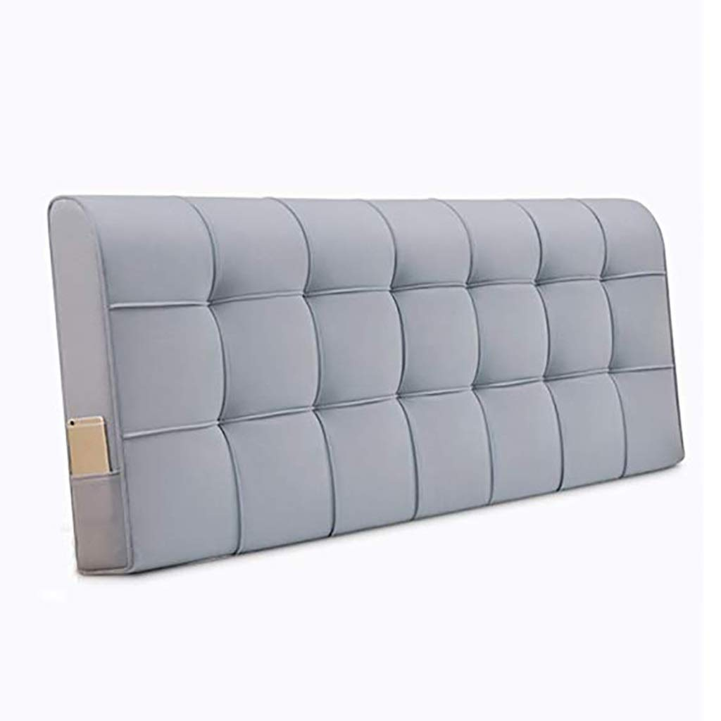 YANFEI Headboard Cushion Bed Back Cushion Backrest Softcase Fabric Washable Home Bedroom Simple Fashion Multifunction 7 Size 7 Colors (Color : 155cm, Size : A)