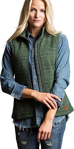 Overland Sheepskin Co Aurora Italian Wool-Blend Fleece Vest (Aurora Fleece)