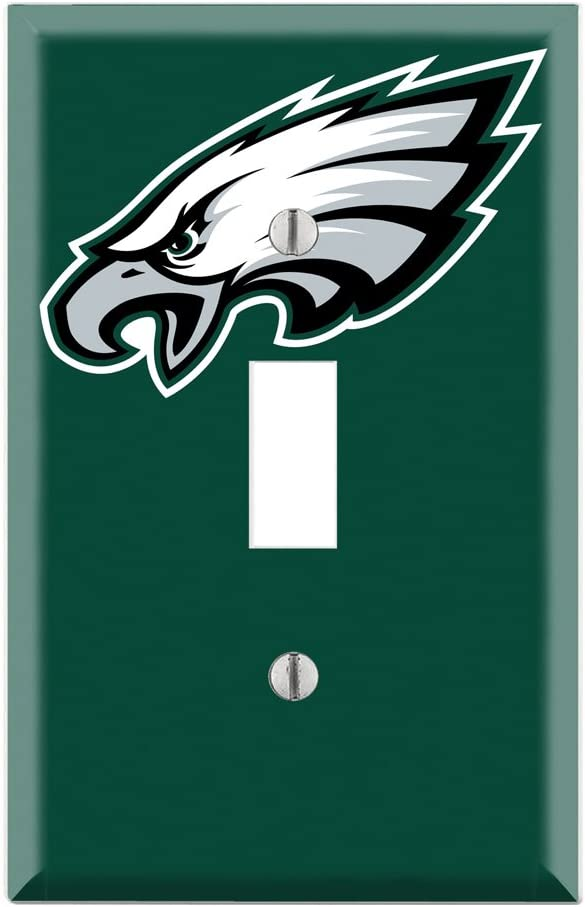 Single Toggle Wall Switch Cover Plate Decor Wallplate - Eagles