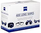 Zeiss Pre-Moistened Lens Cleaning Wipes, 400Count
