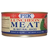 Pek Luncheon Meat in Natural Juices 300g (Pack of 3)