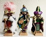 Steinbach The Three Wiseman LE Mini Nutcrackers