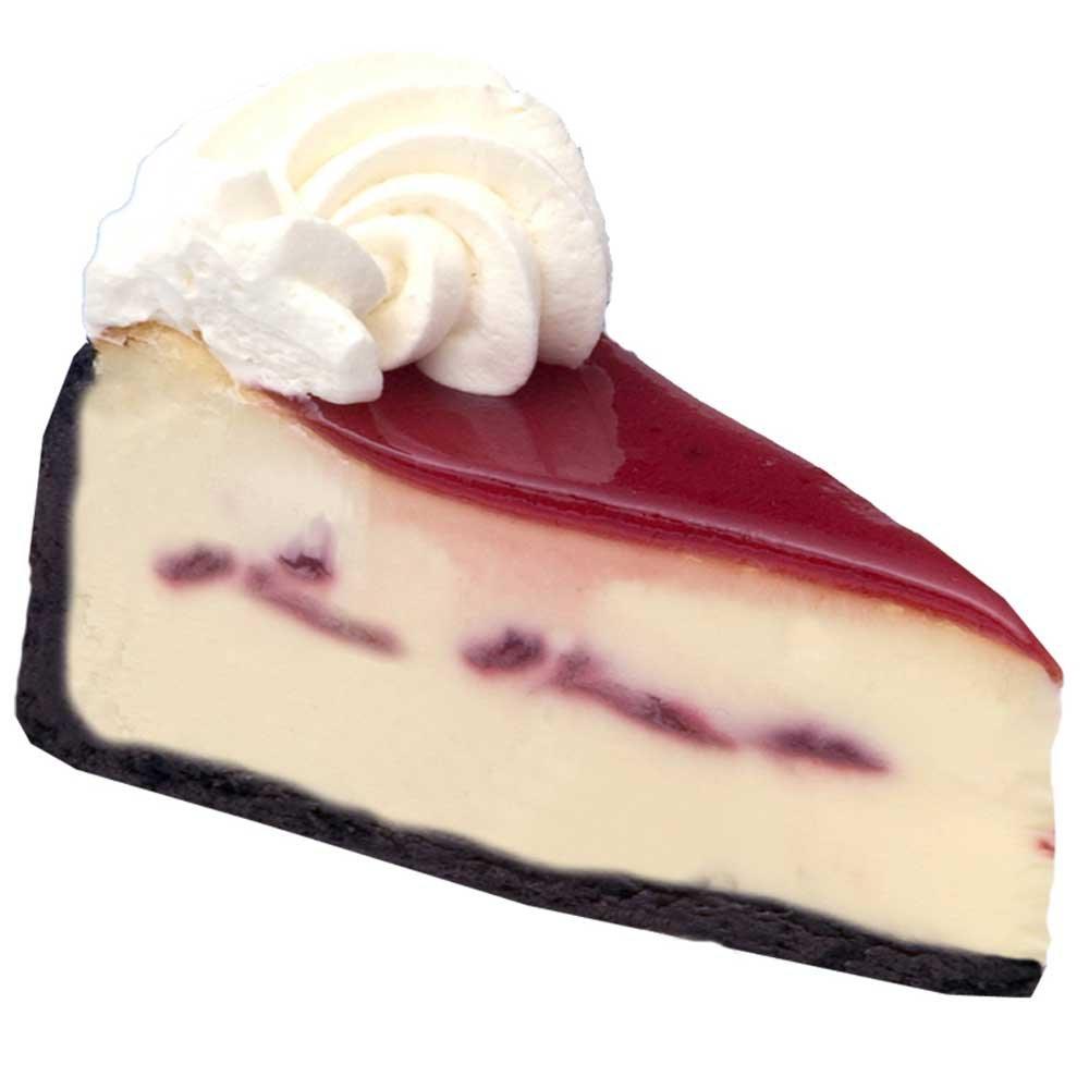 Elis White Chocolate Raspberry Cheesecake, 93 Ounce -- 2 per case. by Elis Cheesecake (Image #1)