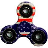 Tri-Spinner Fidget Toy With Premium Hybrid Ceramic Bearing ,Fidget Spinner ,Best Stress Reducer Relieves ADHD ,Anxiety,Boredom and Hand Killing Time