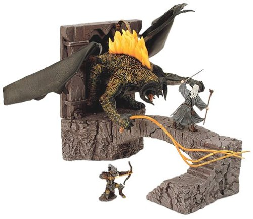 Lord of the Rings Armies of Middle Earth Battle Scenes Bridge at (Lord Of The Rings Collectibles)
