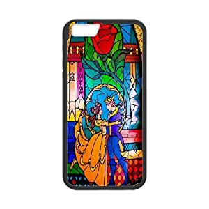James-Bagg Phone case Beauty And The Beast Pattern Design Case For Apple Iphone 6,4.7
