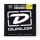 Dunlop DBN40100 Nickel Wound Bass Strings, Light, .040?.100, 4 Strings/Set