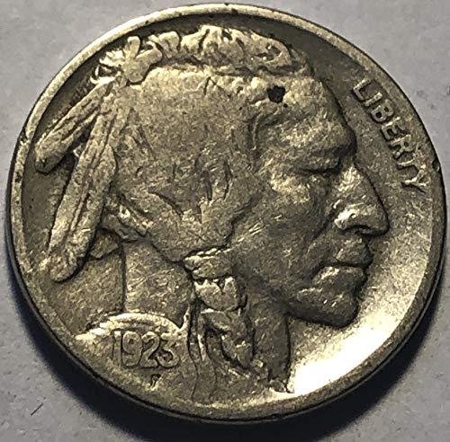 1923 P Buffalo Nickel Condition Good Detials