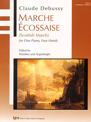 WP612 - Claude Debussy - Marche Ecossaise (Scottish March) for One Piano, Fou Hands - Performers