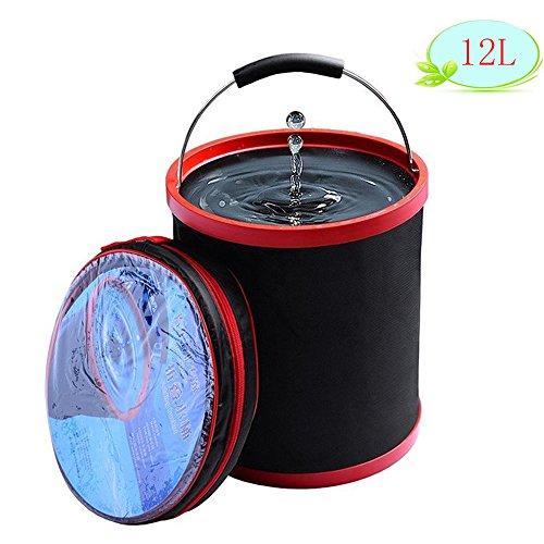 🥇 Cubo plegable DYBOHF Cubeta de agua portátil Multiuso – Apto para acampar