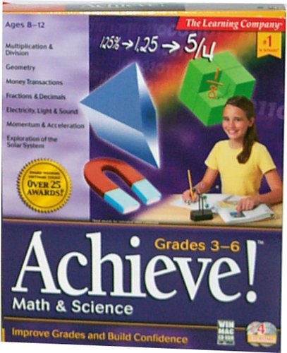 (Achieve Math & Science Grade 3rd-6th )