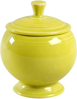 product image for Fiesta Individual Covered Sugar Dish, 9-Ounce, Lemongrass