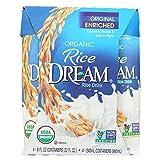 Rice Dream Organic Rice Drink - Original - Case of 6 - 8 Fl oz.