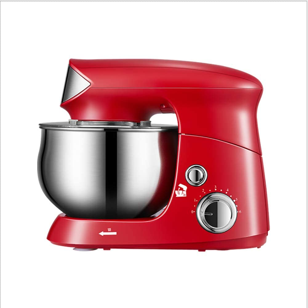 ALY Stand Mixer, Electric Mixer 3.5 L, 6 Speeds Mixer for Dressings, Frosting, Meringues & More Red