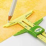 YEQIN 5-in-1 Sliding Gauge Measuring Sewing Tool
