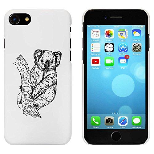 Blanc 'Koala dans l'Arbre' étui / housse pour iPhone 7 (MC00080146)