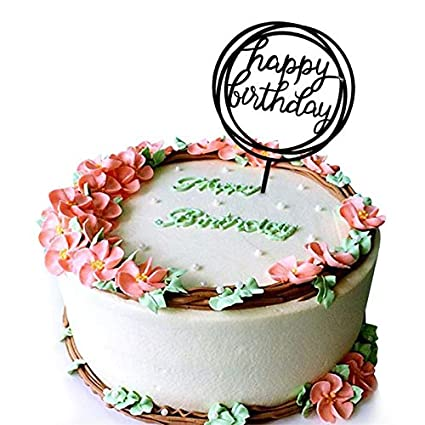 1pc Happy Birthday Basketball Cupcake Cake Toppers Art Door Cake Flags Kids Birthday Party Baby Shower Wedding Baking Decor Complete In Specifications Wedding & Anniversary Bands