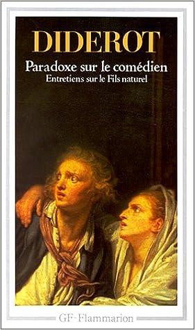 paradoxe sur le comdien french edition