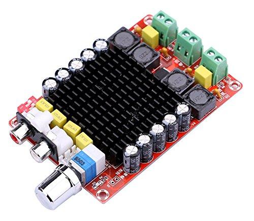 WINGONEER TDA7498 2X100W Dual Channel Digital Stereo Power Amp Module DC 24V Class D Audio Amplifier Board