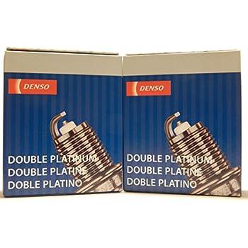 8 PCS *NEW* -- DENSO #3174 -- DOUBLE PLATINUM Spark Plugs -- PK16PR-P11