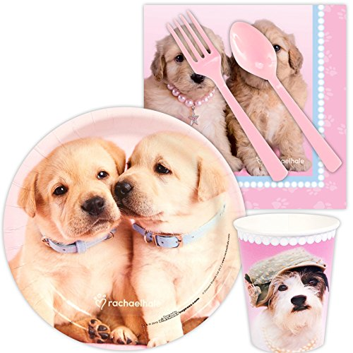 BirthdayExpress Rachael Hale Glamour Dogs Party Supplies - Snack Party Pack -