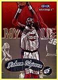 1999-00 Fleer Mystique #21 Hakeem Olajuwon HOF HOUSTON ROCKETS COUGARS